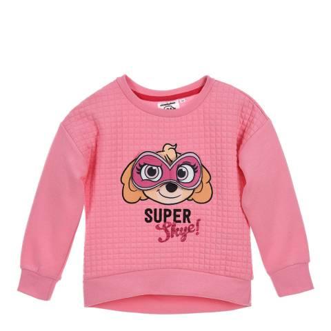 Disney Kid's Pink Paw Patrol Super Skye Sweatshirt