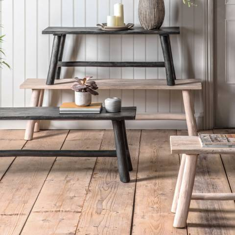 Gallery Alberta Bench Rustic Grey