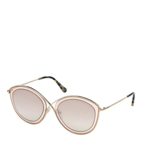 Tom Ford Women's Pink Tom Ford Sunglasses 55mm