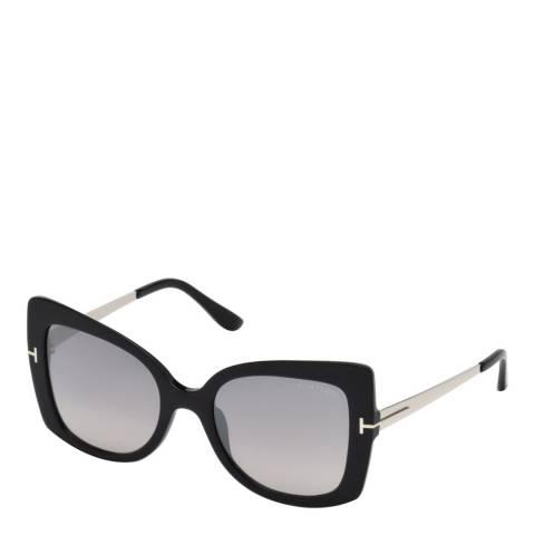 Tom Ford Women's Black/Grey Tom Ford Sunglasses 54mm