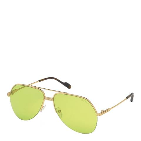 Tom Ford Men's Yellow Gold Tom Ford Sunglasses 62mm
