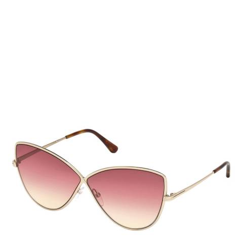 Tom Ford Women's Pink Tom Ford Sunglasses 65mm