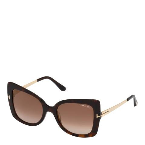 Tom Ford Women's Brown Tom Ford Sunglasses 54mm