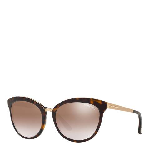 Tom Ford Women's Brown Tom Ford Sunglasses 56mm