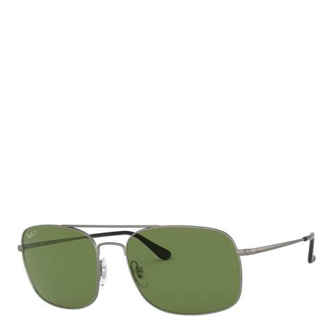 Ray-Ban Unisex Gunmetal Sunglasses 60mm