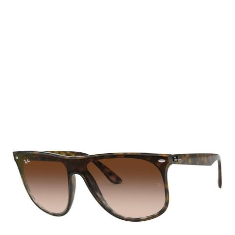 Ray-Ban Unisex Tortoise Blaze Sunglasses 40mm