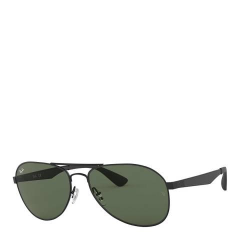 Ray-Ban Unisex Black Sunglasses 61mm