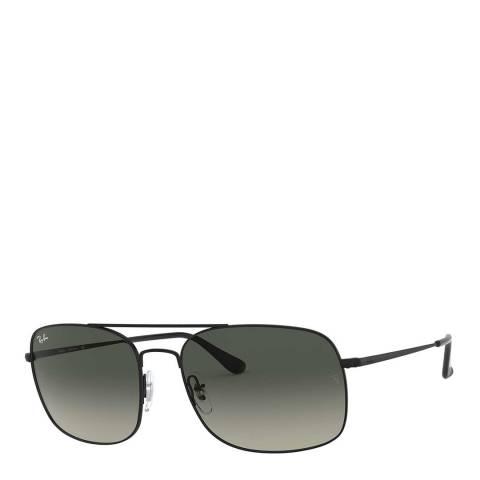Ray-Ban Unisex Black Sunglasses 60mm