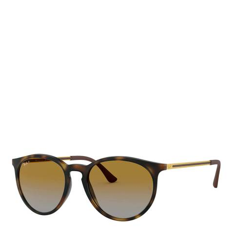 Ray-Ban Unisex Tortoise Sunglasses 53mm