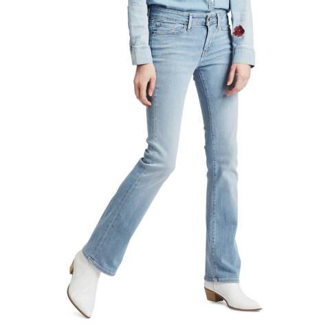 Levi's Light Blue 715™ Bootcut Stretch Jeans