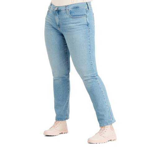 Levi's Light Blue 314™ Shaping Plus Size Straight Stretch Jeans