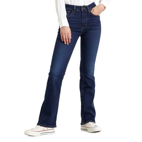 Levi's Indigo 725™ High Rise Bootcut Stretch Jeans
