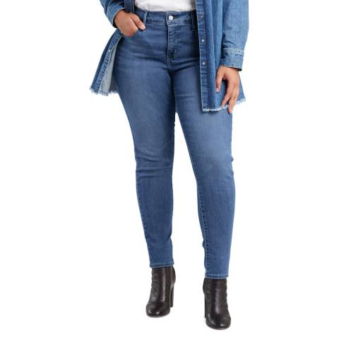 Levi's Blue 310™ Shaping Plus Size Skinny Stretch Jeans