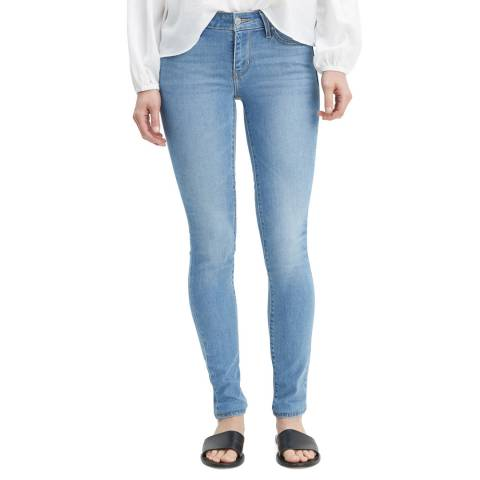 Levi's Light Blue 711™ Skinny Stretch Jeans