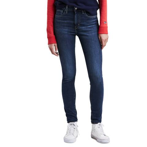 Levi's Indigo 721™ High Rise Skinny Stretch Jeans