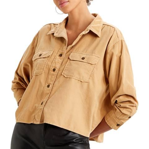 Levi's Beige Olsen Utility Shirt