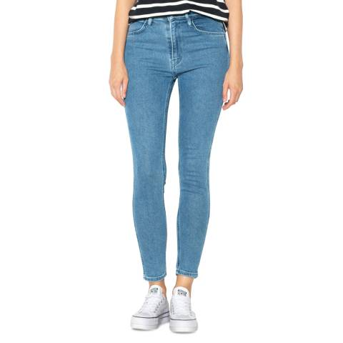Levi's Blue L8 High Rise Skinny Stretch Jeans