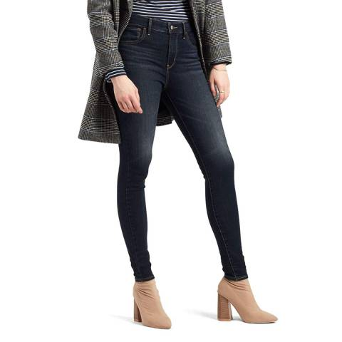Levi's Dark Denim 720™ High Rise Super Skinny Stretch Jeans