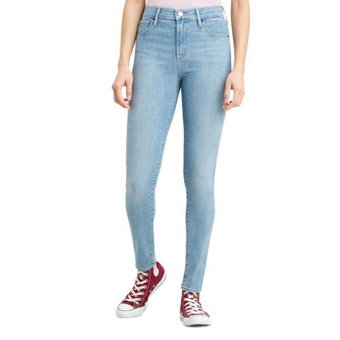 Levi's Light Blue 720™ High Rise Super Skinny Stretch Jeans