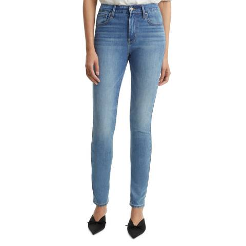 Levi's Light Blue 721™ High Rise Skinny Stretch Jeans