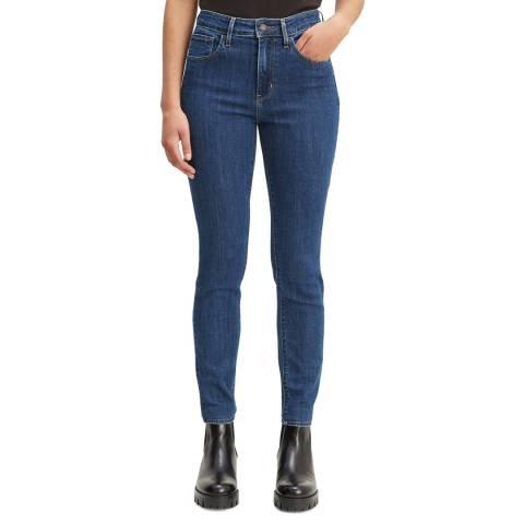Levi's Dark Blue 721™ High Rise Skinny Stretch Jeans