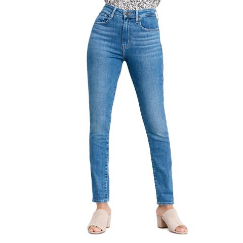 Levi's True Blue 721™ High Rise Skinny Stretch Jeans