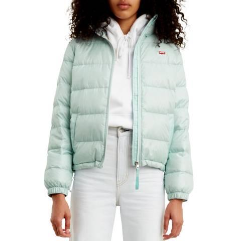 Levi's Blue Francine Down Puffer Jacket