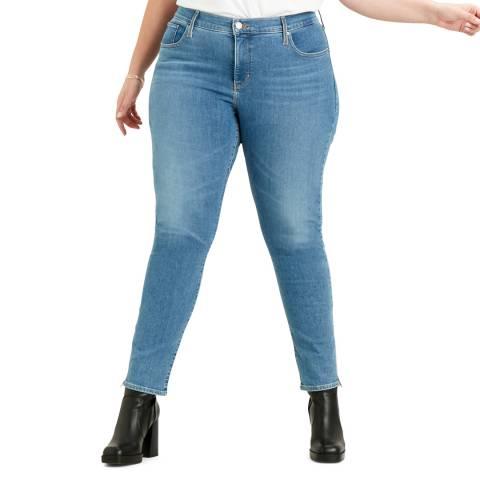 Levi's Blue 311™ Plus Size Skinny Stretch Jeans
