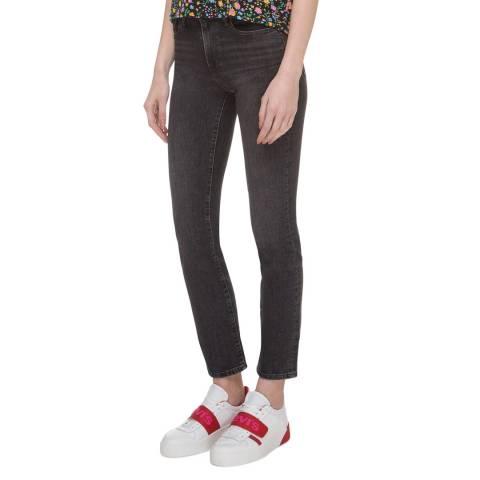 Levi's Black 724™ High Rise Straight Stretch Jeans