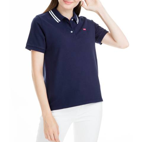 Levi's Navy Eseential Polo Shirt