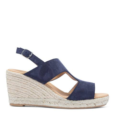 Paseart Blue Serraje Espadrille Sandal