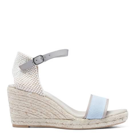 Paseart Multi Grey Brasilia Espadrille Sandal