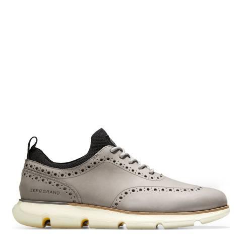 Cole Haan Grey 4.Zerogrand Wingtip Oxford Shoes