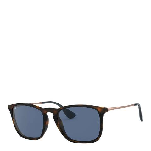 Ray-Ban Unisex Brown/Blue Sunglasses 54mm
