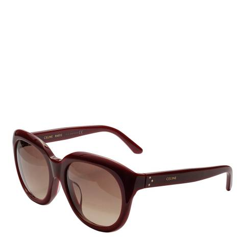 Celine Women's Brown Celine Sunglasses 57mm