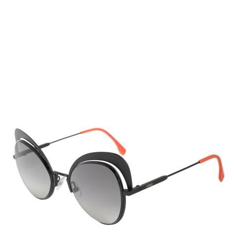 Fendi Women's Grey/Orange Fendi Sunglasses 54mm