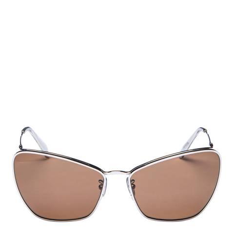 Celine Women's Brown/Silver Celine Sunglasses 61mm