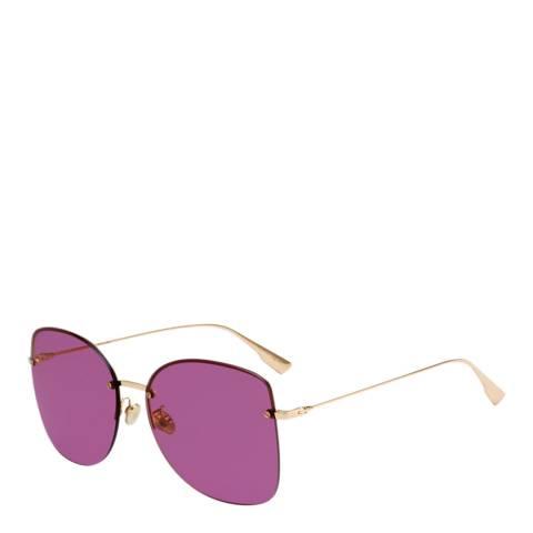 Dior Women's Gold/Pink Dior Sunglasses 62mm