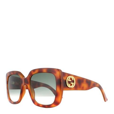 Gucci Women's Brown Gucci Sunglasses 53mm