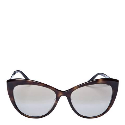 Versace Women's Brown/Silver Versace Sunglasses 57mm