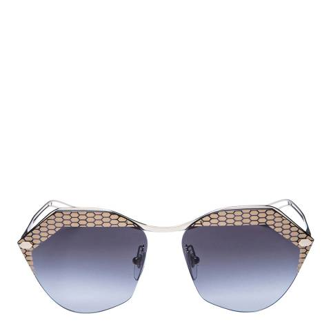 Bvlgari Women's Grey/Silver Bvlgari Sunglasses 62mm