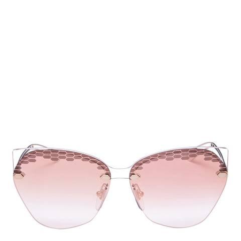 Bvlgari Women's Pink Bvlgari Sunglasses 62mm
