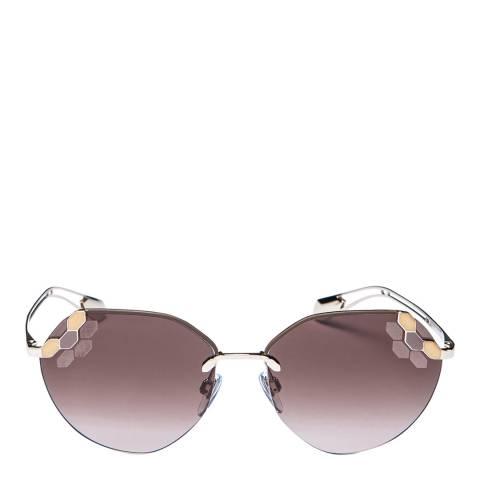 Bvlgari Women's Brown/Gold Bvlgari Sunglasses 57mm