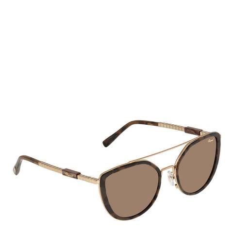 Chopard Women's Brown Chopard Sunglasses 52mm