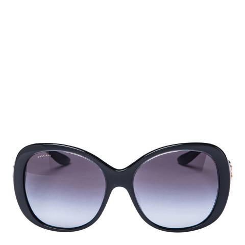 Bvlgari Women's Black/Gold Bvlgari Sunglasses 57mm