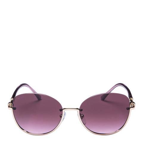 Bvlgari Women's Pink Bvlgari Sunglasses 56mm