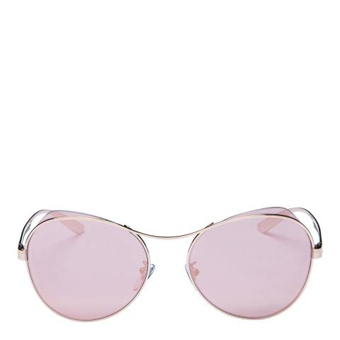 Bvlgari Women's Pink/Rose Gold Bvlgari Sunglasses 57mm
