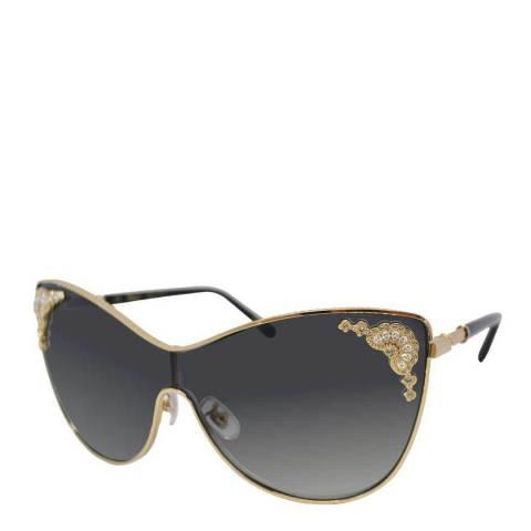 Chopard Women's Grey/Gold Chopard Sunglasses 99mm