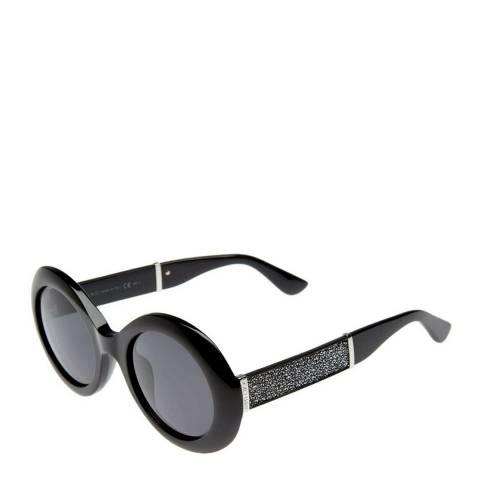 Jimmy Choo Women's Glitter Black Jimmy Choo Sunglasses 51mm