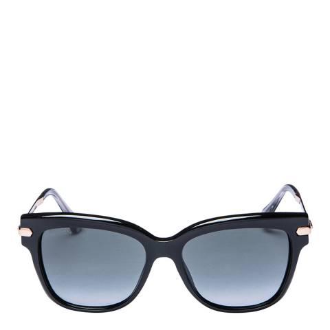 Jimmy Choo Women's Black/Gold Jimmy Choo Sunglasses 54mm